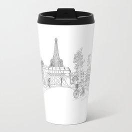 Paris! Version#1 Travel Mug