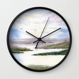 Mostly Water Wall Clock