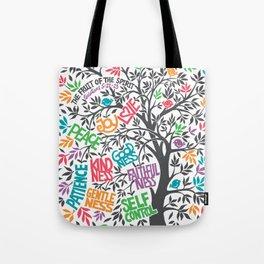 Fruit Of The Spirit (Full Color) Tote Bag