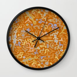 VooDoo Thoughts Wall Clock