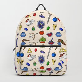 Zelda pattern Backpack