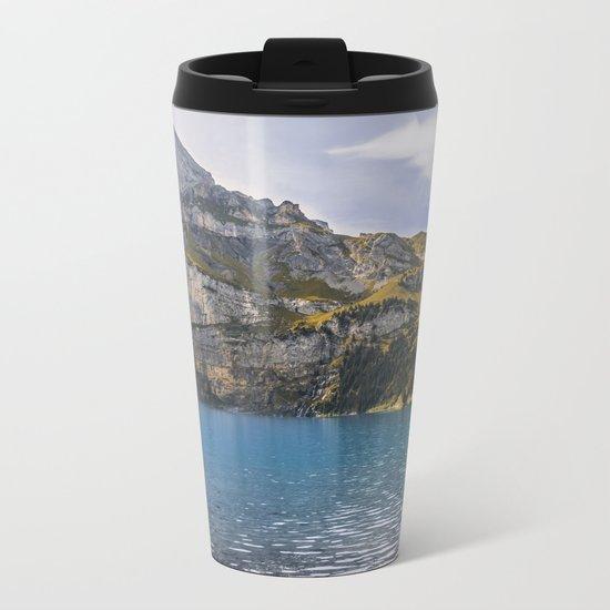 Oeschinen Lake II Metal Travel Mug