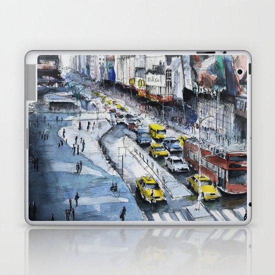 Time square - New York City Laptop & iPad Skin