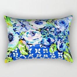 Blues Ginger Jar Rectangular Pillow