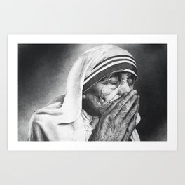Soul of Grace Art Print