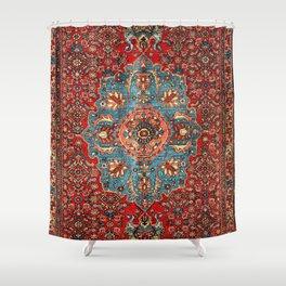 Bidjar Antique Kurdish Northwest Persian Rug Print Shower Curtain