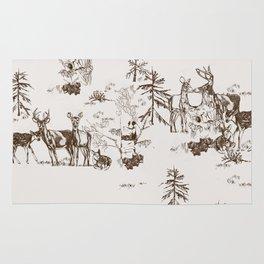 Deer Love Rug