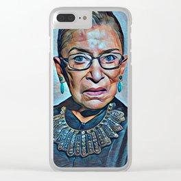 RUTH Clear iPhone Case