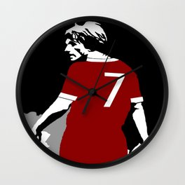 Liverpool FC Legendary No.7 Kenny Dalglish  Wall Clock