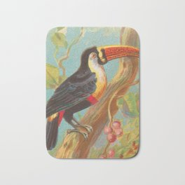 Toco Toucan Birds of the Tropics Series by A&G Bath Mat