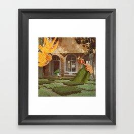 Knit Framed Art Print