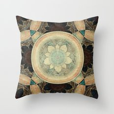 Loyalty Mandala Throw Pillow