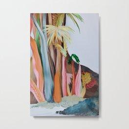 Jungle Landscape Metal Print