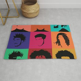 FOR COLORED BOYS COLLECTION COLLAGE Rug