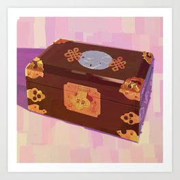 Chinese Jewelry Box Art Print
