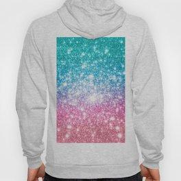 Mermaid Galaxy Sparkle Stars Hoody