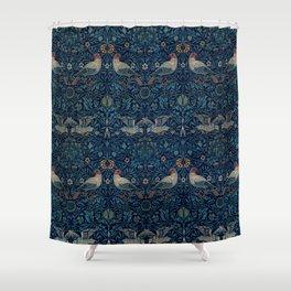 """William Morris """"Bird"""" Shower Curtain"""
