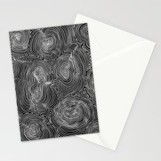 Inverse Contours Stationery Cards