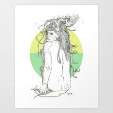 colour blind V Art Print