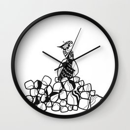 InSearch Isolation Wall Clock