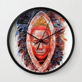 MAASAI Wall Clock
