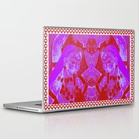 lesbian Laptop & iPad Skins featuring KALI-2 WOMEN-VALENTINE'S DAY-LESBIAN by Kathead Tarot/David Rivera
