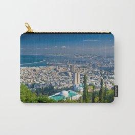 Haifa harbour Carry-All Pouch