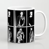 1975 Mugs featuring 1975. by Spazy Art