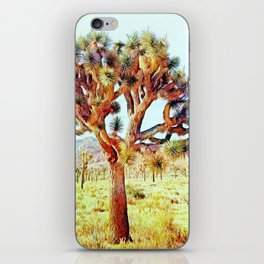 Joshua Tree VG Hills by CREYES iPhone Skin