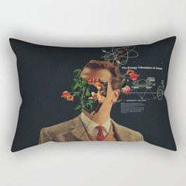 The Energy Vibrations Of Atoms Rectangular Pillow