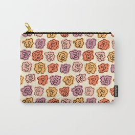 Warm Roses Carry-All Pouch