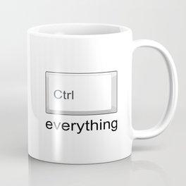 Control Ctrl everything Coffee Mug