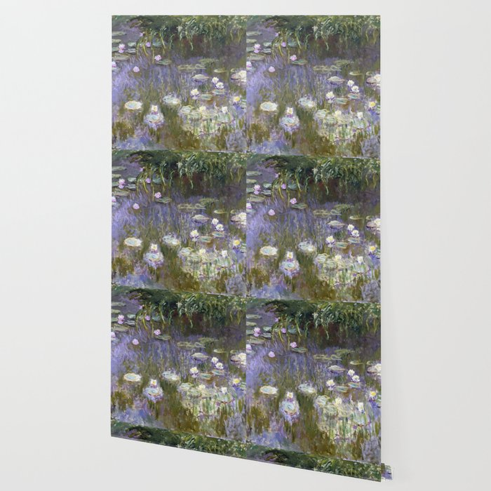 Water Lilies 1922 By Claude Monet Wallpaper