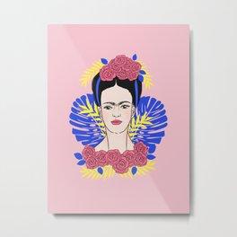 Tribute to Frida #1 Metal Print