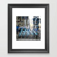Permanent tag via fiefdoms. Framed Art Print
