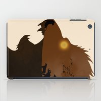 simba iPad Cases featuring The Lion King by Rowan Stocks-Moore