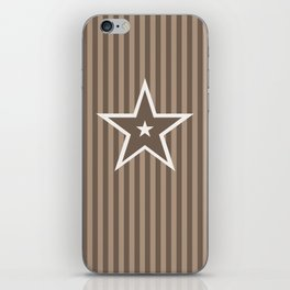 The Greatest Star! Coffee and Cream iPhone Skin