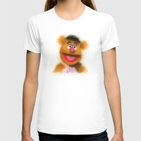 muppets T-shirts featuring Fozzie, The Muppets by KitschyPopShop