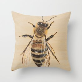 Bee III (Sampson) Throw Pillow