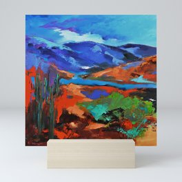 Along the Trail - Arizona Mini Art Print