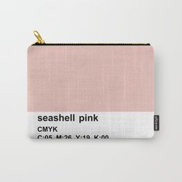 pantone colorblocking design, cmyk pink Carry-All Pouch
