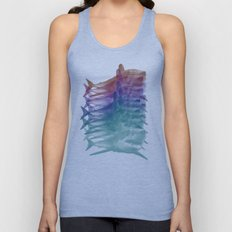 shark shirt Unisex Tank Top