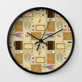 Snail Mail Wall Clock