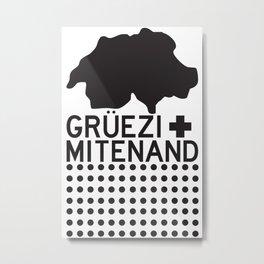 Gruezi//Fifteen Metal Print