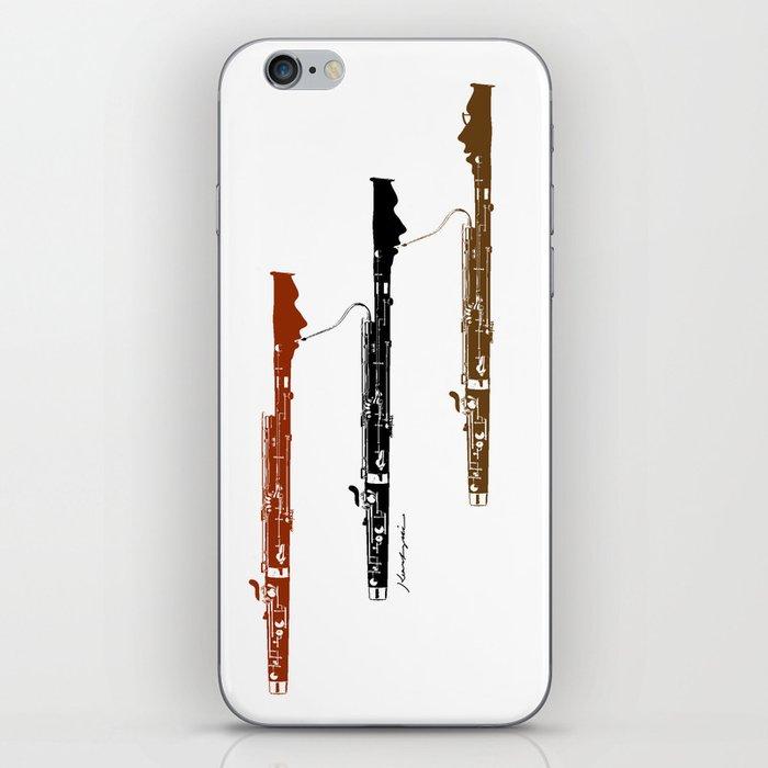 Bassoon Trio  iPhone Skin