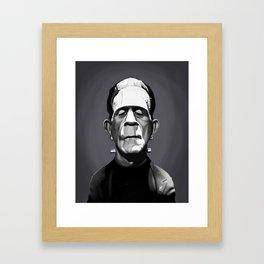 Boris Karloff Framed Art Print