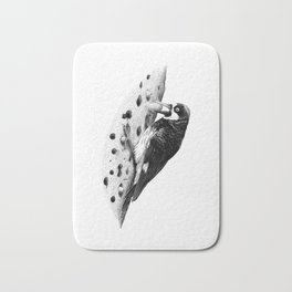 Acorn Woodpecker Bath Mat