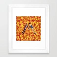 Autumn Dreaming Framed Art Print