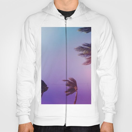 Under tall Palm trees Hoody