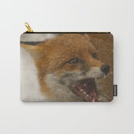 Wild Red Fox In The Snow Carry-All Pouch